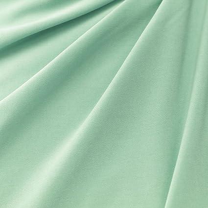 420318cf45d Amazon.com: Green Mint ITY Stretch Jersey Knit Fabric Interlock ...