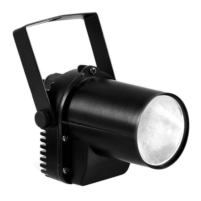 White LED Beam Pinspot Light DJ Mirror Ball Lighting For KTV Bar Club Party Disco by MOUNTAIN_ARK