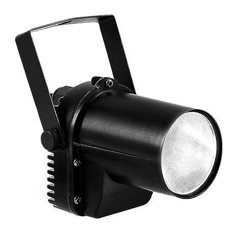 Amazon.com  White LED Beam Pinspot Light DJ Mirror Ball Lighting For KTV  Bar Club Party Disco  Musical Instruments b5772c70737c