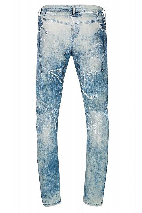 CIPO & BAXX TurnAround Hose Herren Jeans Denim Blau CD255: Amazon.de:  Bekleidung