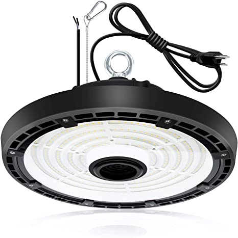 100W-240W LED High Bay Light Dimmable 5000K IP65 130 Lm//W Warehouse Workshop