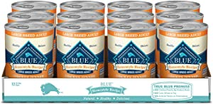 Blue Buffalo Homestyle Recipe Natural Adult Large Breed Wet Dog Food Chicken 12.5-oz can (Pack of 12)