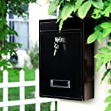 Jssmst Locking Mailboxes Wall Mounted Vertical