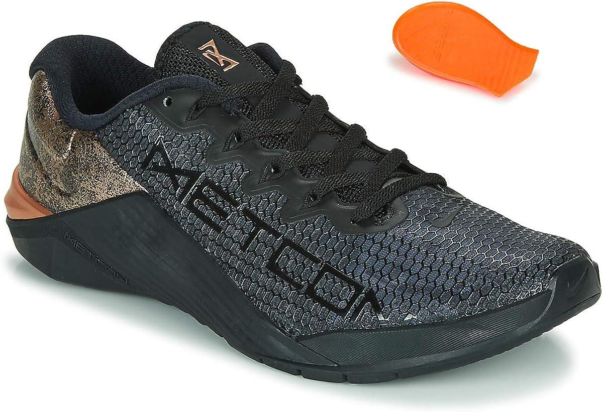 Nike Women's Metcon 5 X Training Shoes 7, Black Bronze
