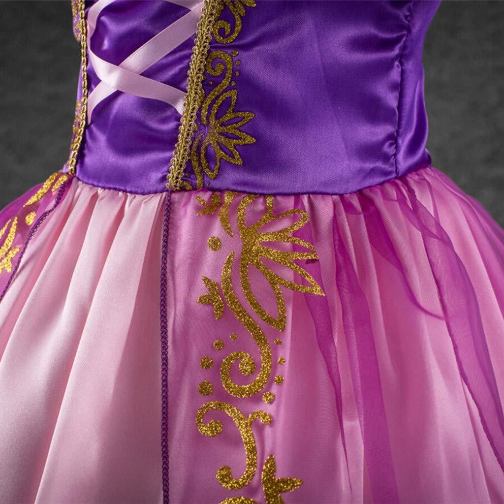Xmiral Vestido de Princesa Vintage de Rayas para Cosplay ...
