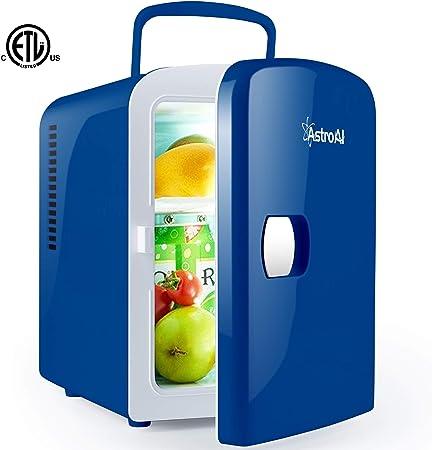 AstroAI Mini Fridge 4 Liter 6 Can Portable AC