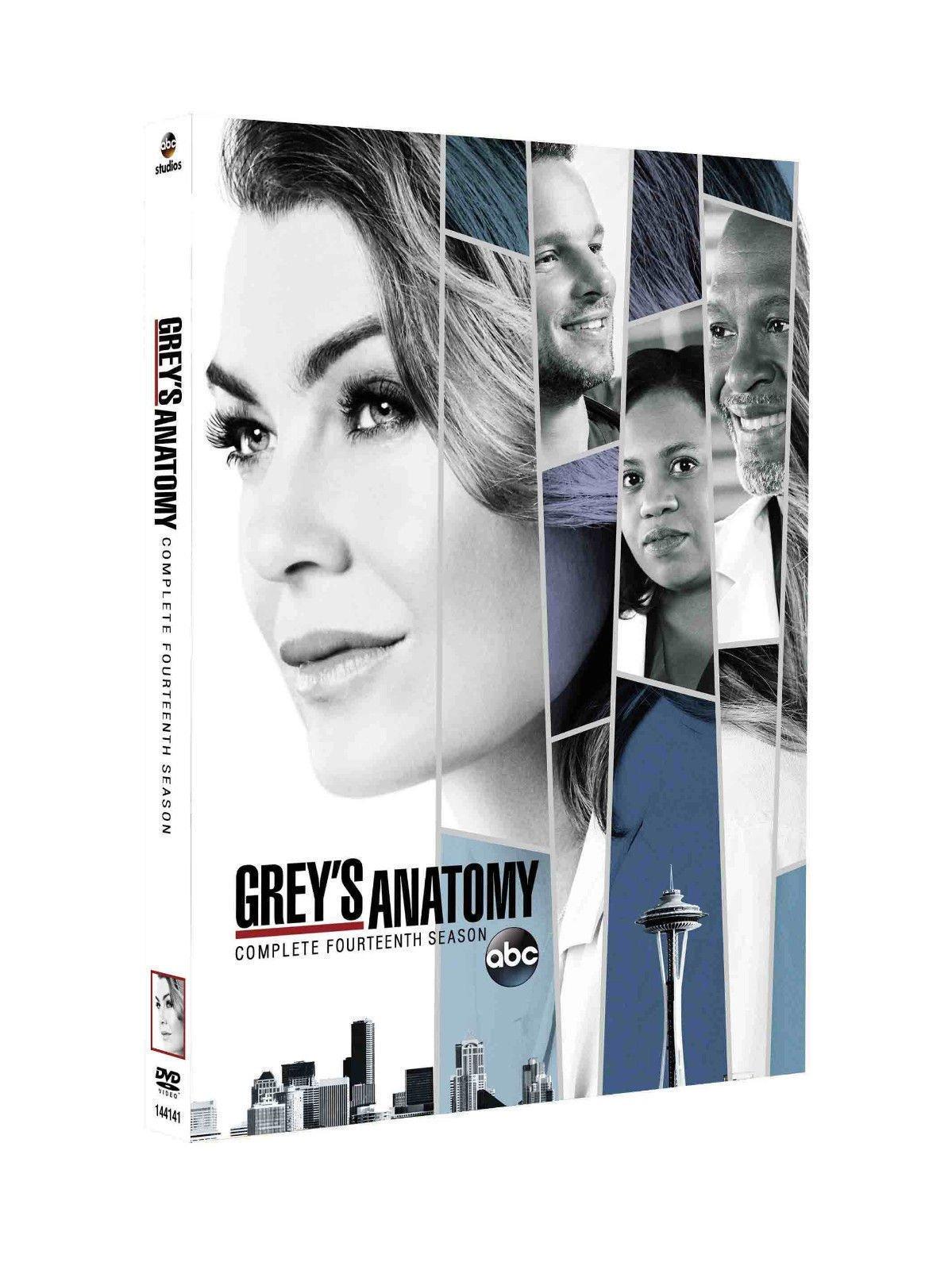 Grey's Anatomy Season 14 FOURTEEN(DVD, 2018, 5-Disc Set)