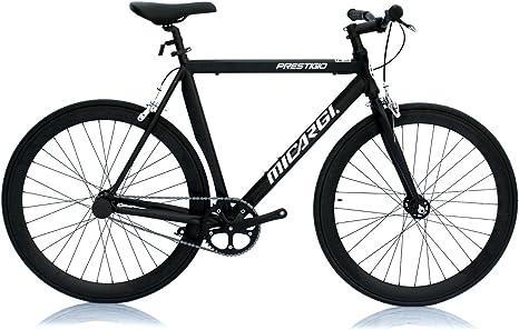 micargi prestigio-58-mbk/BK fija bicicleta 700 C 58 cm aluminio ...