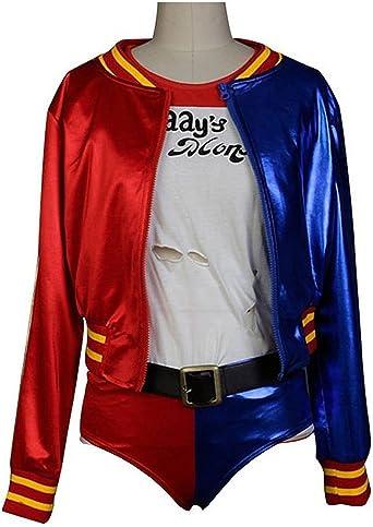 stail tienda Cosplay disfraz Harley Quinn disfraz Halloween Traje ...