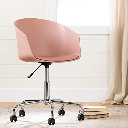 South Shore Flam Swivel Chair-Pink