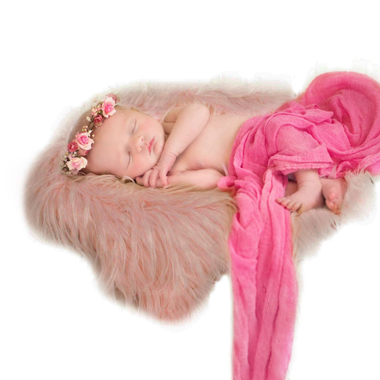 Aniwon Baby Photo Prop Blanket Newborn Photography Wrap Infant Prop Rug GMNTY5X9MZROHU6052815P42