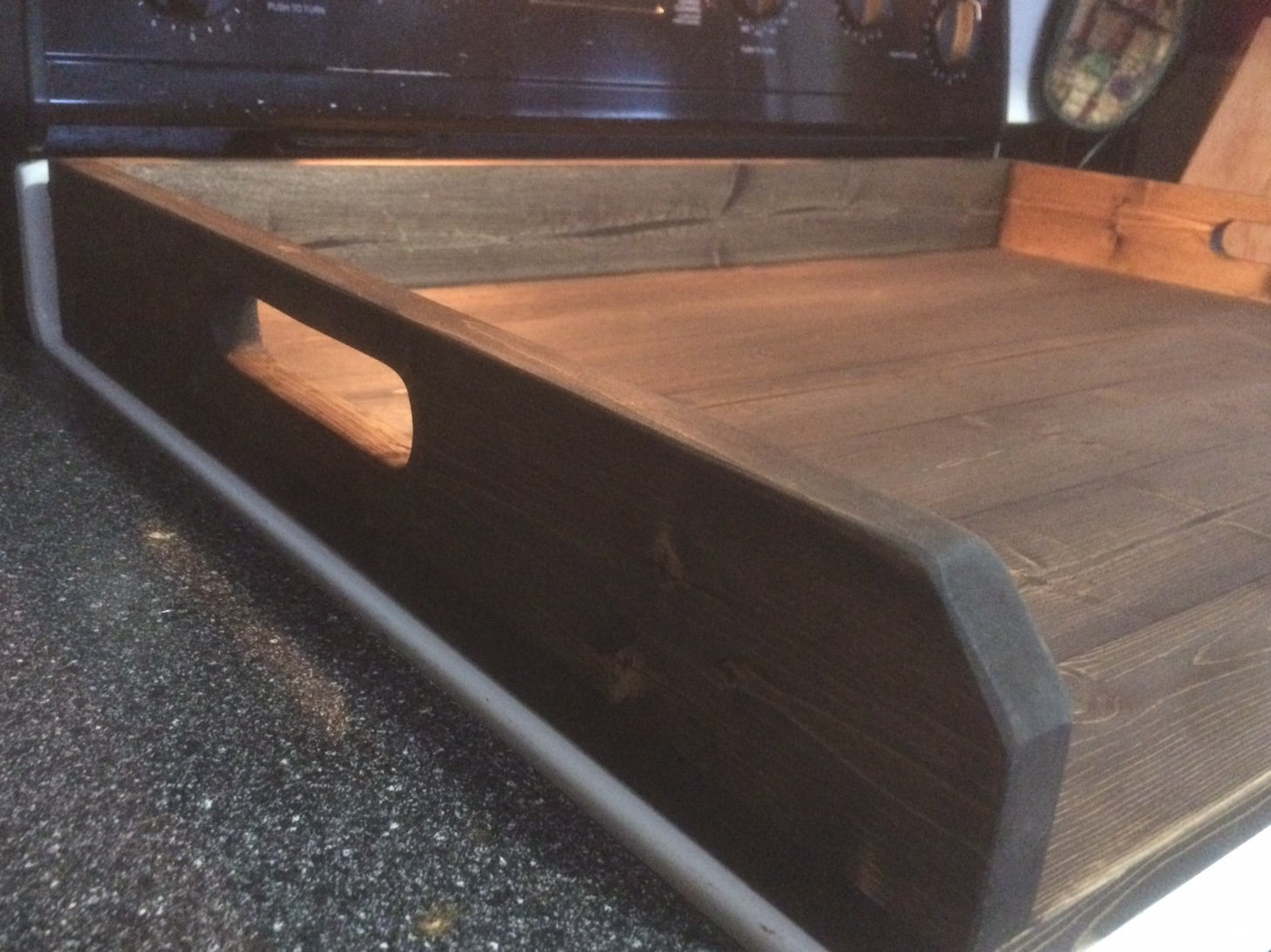 Rustic noodle board, stove top cover, stove board by LodgeDecorNMore (Image #3)