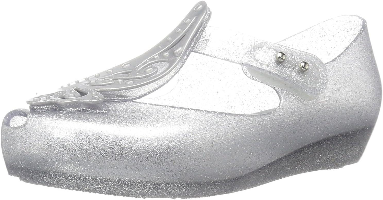 mini melissa Unisex-Child Mini Ultragirl Fly Ii Ballet Flat