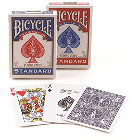 Bicycle Playing Card Deck, 2-Pack Collectible Trading Cards & Accessories at amazon