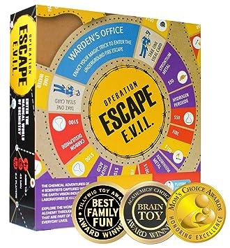 Kitki Escape Evil Juego De Mesa Para Ninos Juguete Educativo De C