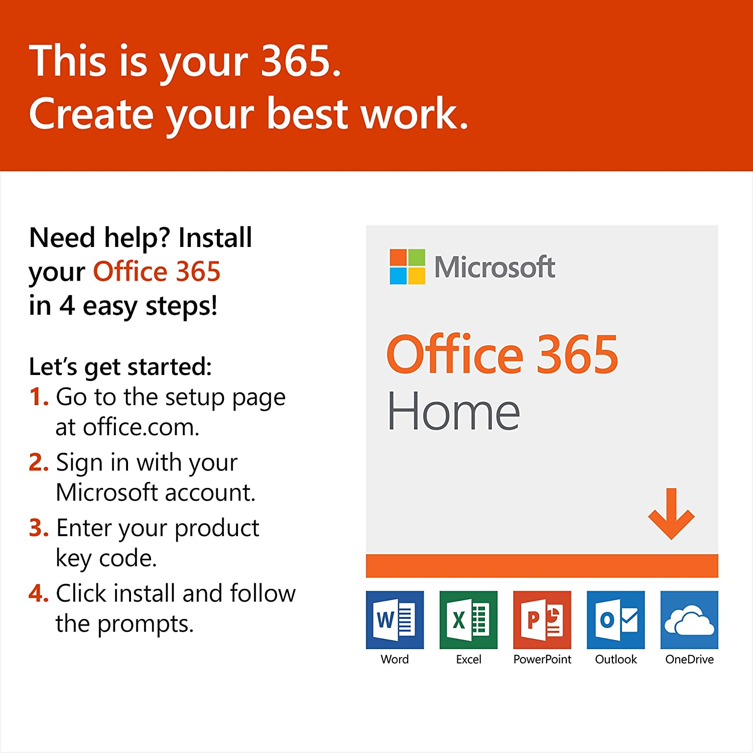 ms office 365 home product key free