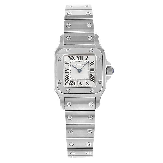 Cartier Santos Octagon W20056D6 - Reloj de Cuarzo para Mujer (Certificado prepropio)
