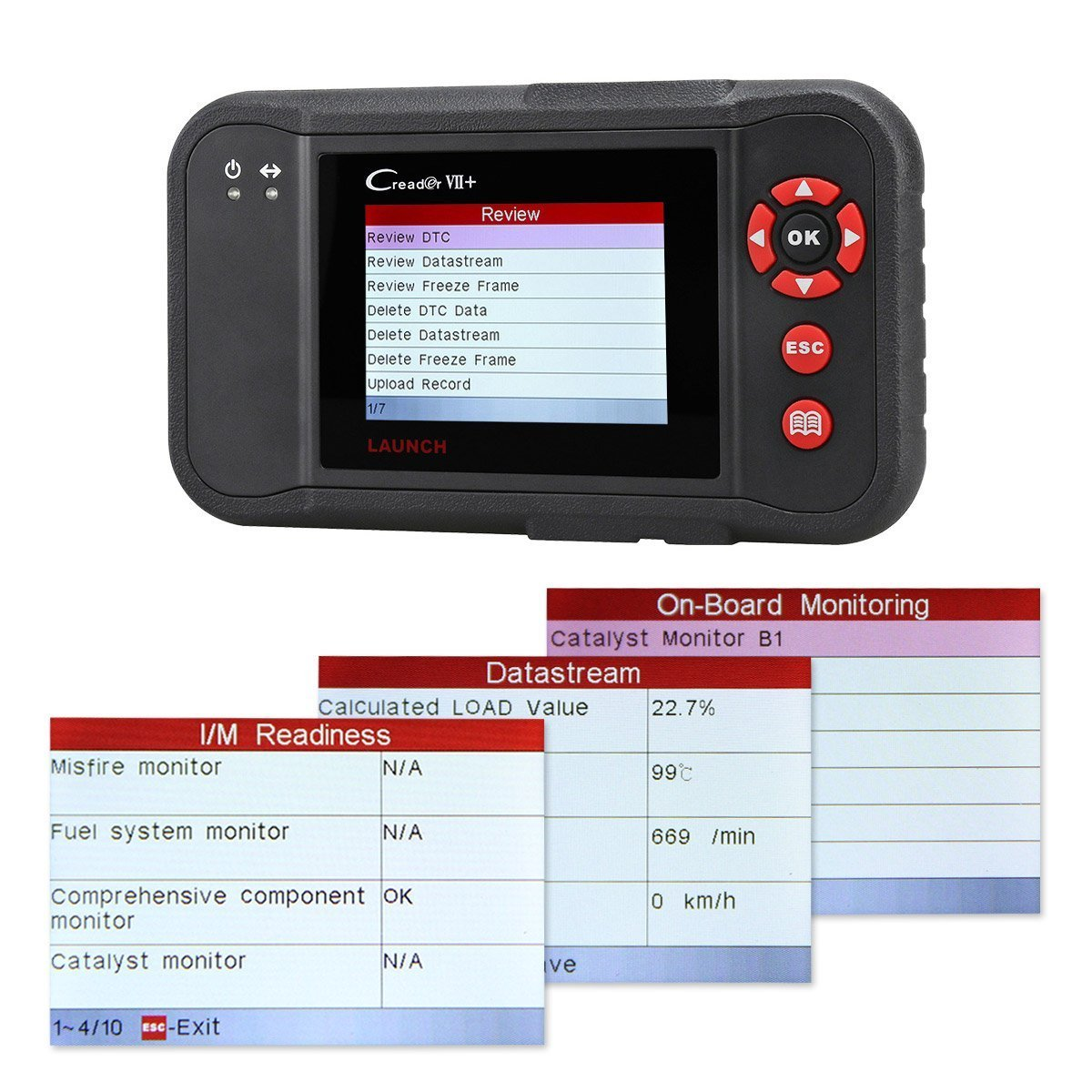 Launch X431 Creader Vii Crp123 Auto Code Reader Eobd Net O View Topic Bmw Reset Tool Circuit Diagram Please Check Obd2 Scanner Scan Testing Engine Transmission Abs Airbag System Update Via Pc