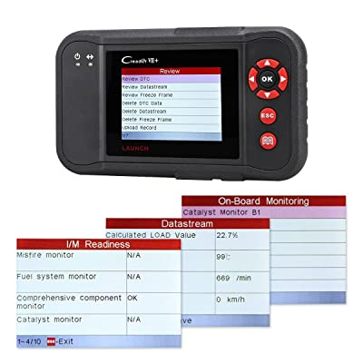 The Launch Creader VII+ (CRP123)offers affordable professional diagnostics conveniently and comprehensively.