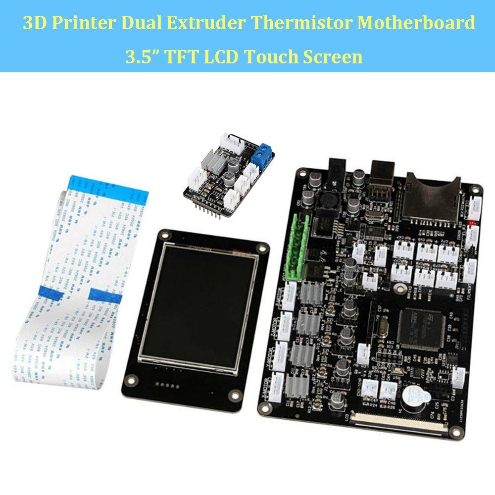 makergroup 3d impresora placa base v3.9 doble extrusor ...