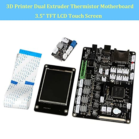 makergroup 3d impresora placa base v3.9 doble extrusor termistor ...