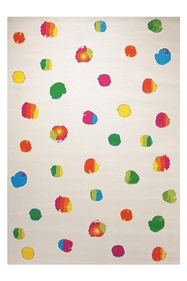 Kinderteppich esprit  Funny Dots weiss Kinderteppich ESPRIT ESP-8030-01, Größe:80*150cm ...