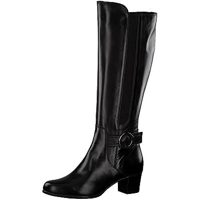 brand new 80eec 525b9 Tamaris Damen Stiefel 25549-21,Frauen  Boots,Lederstiefel,Reißverschluss,Blockabsatz 5cm