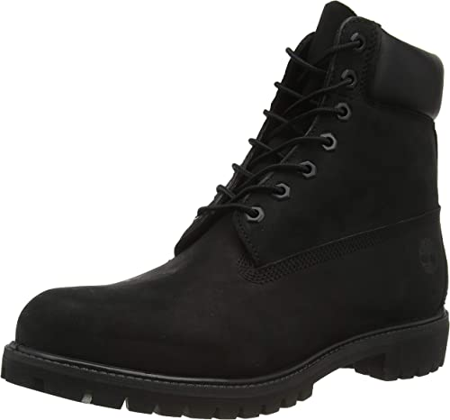 TIMBERLAND Herren Boots Gr 9 passt 42,5 Schwarz Logo Versand 5