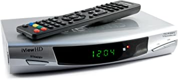 HDMI 1080p Freeview Digital TV Receiver Tuner Set Top Digi Box Terrestrial + USB and SD Slot TV Schedule Program Recorder + MP4 MKV H.264 Multi Media ...
