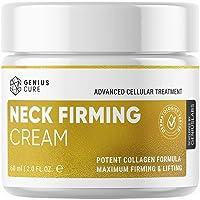 GENIUS Neck Firming Cream, Anti Aging Moisturizer for Neck & Décolleté, Double Chin...