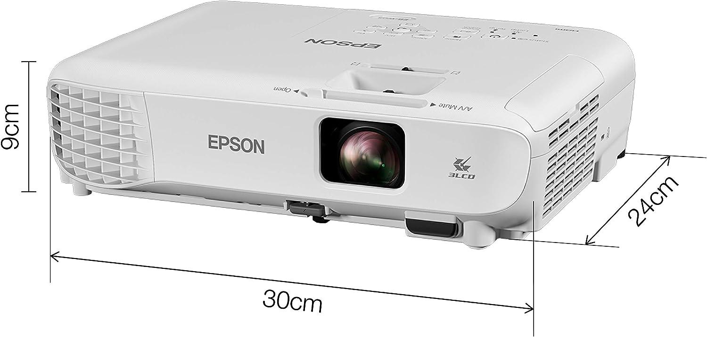 Epson EB-W05 Video - Proyector (3300 lúmenes ANSI, 3LCD, WXGA ...