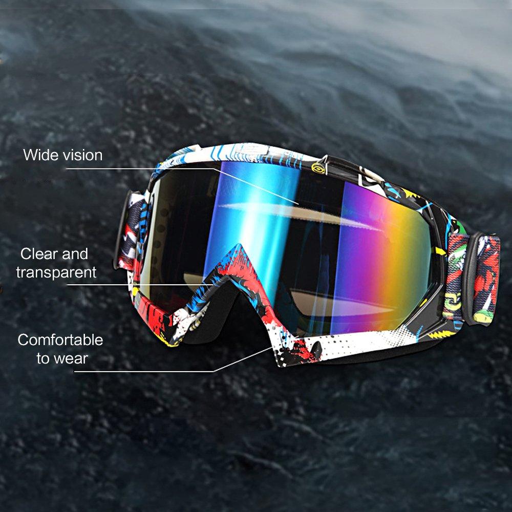 Tong Yue occhiali da moto off Road auto Racing maschera occhiali da sole occhiali protettivi, A016