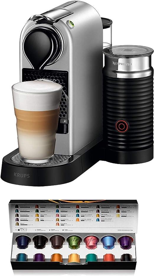 Nespresso Krups Citiz XN760B - Cafetera monodosis de cápsulas ...