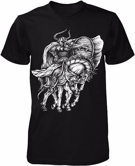 Pferd Girlie Shirt Sleipnir