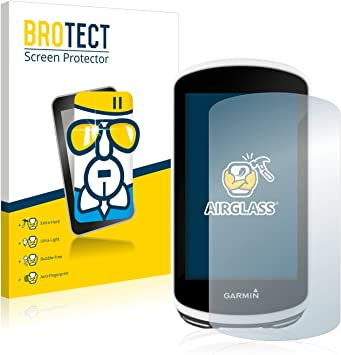 BROTECT Protector Pantalla Cristal Compatible con Garmin Edge 1030 Protector Pantalla Vidrio Dureza 9H AirGlass: Amazon.es: Electrónica