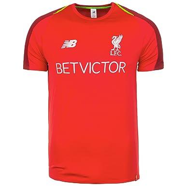 83a99b082 Amazon.com  New Balance Men s Liverpool FC 2018-19 Shortsleeve Training  Jersey  Clothing