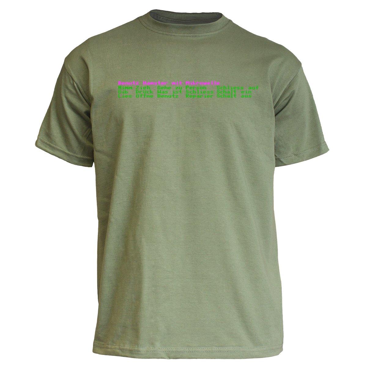 "Nukular T-Shirt ""Adventure"" (Auswahl-Menü) Benutz Hamster mit Mikrowelle... 777180"