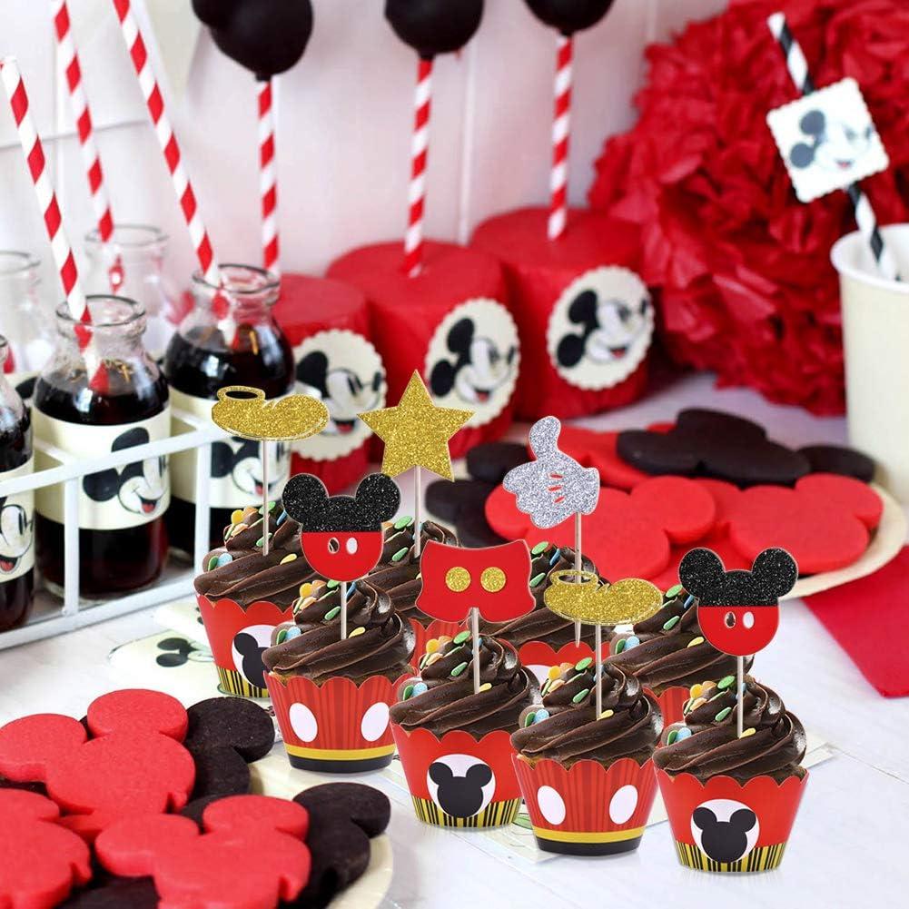 Amazon.com: Ratón Mickey para cupcakes, regalos para niños ...