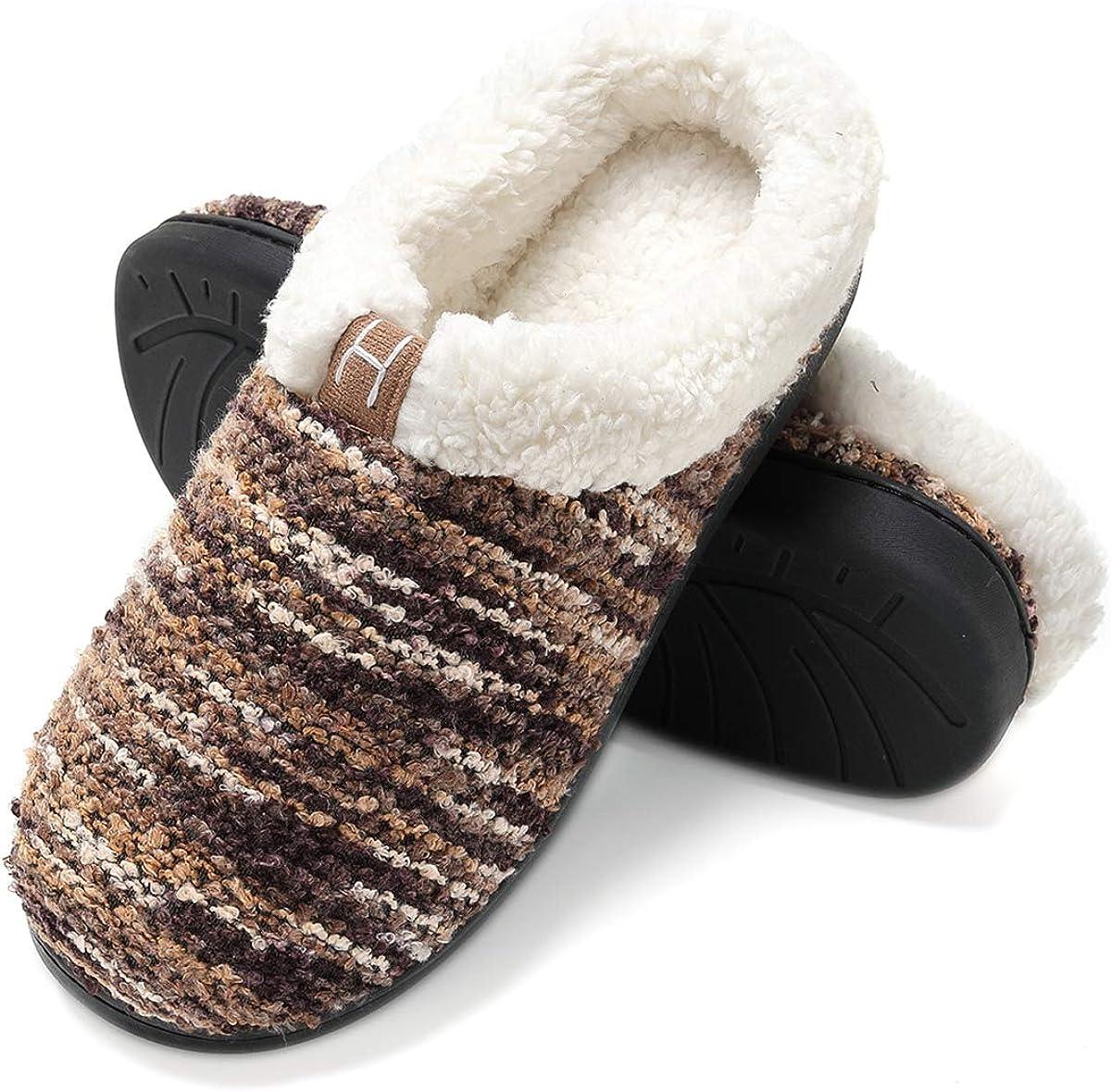 Zapatillas de casa Mujer, Forro algodón, Ultraligero cómodo y ...