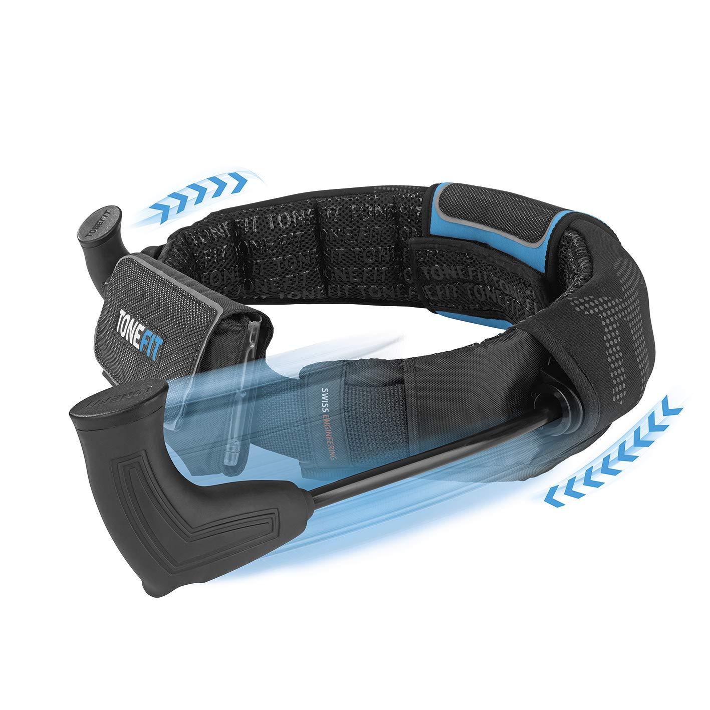 ToneFit Unisex – Erwachsene aus: Der Höhle der Löwen Fitnessgürtel für einfaches Ganzkörpertraining
