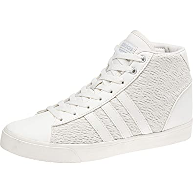 quality design f04d6 20297 adidas CF Daily QT Mid W, Scarpe da Basket Donna, Bianco CwhiteMsilve 000,  39 13 EU Amazon.it Scarpe e borse