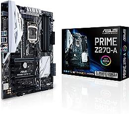Asus Prime Z270-A Motherboard, ATX, Chipset Z270, Socket LGA1151, DDR4, DisplayPort, HDMI, DVI, M.2, USB 3.1