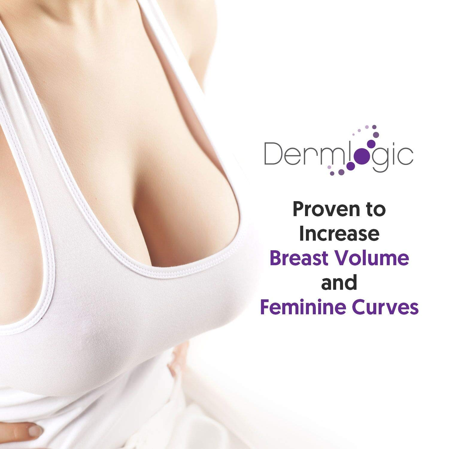 Breast Enhancement Enlargement Cream- Clinically Proven for Bigger, Fuller Breasts. Firms, Plumps Lifts your Boobs. Natural Enhancer Alternative to Surgery for Women.