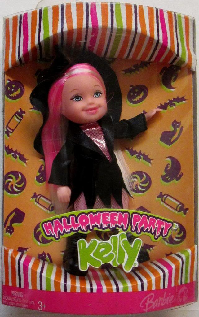 Mattel Halloween Party Kelly - Kelly The Witch