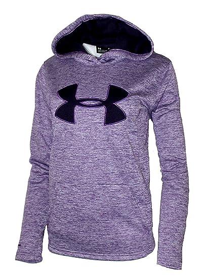 67e1fe122 Under Armour Women's UA Storm Big Logo Hoodie Heather Athletic Shirt:  Amazon.co.uk: Clothing