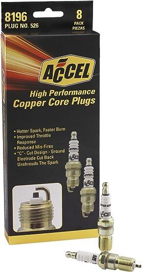 ACCEL 0526-4 HP Copper Spark Plug