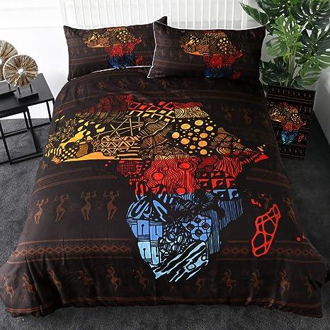 Decorated Multi Nellie Elephant Floral Duvet Quilt Cover Reversible Bedding