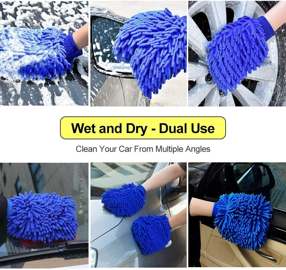 Blue 2 Diagtree Hydro Jet High Pressure Glass Cleaner Jet Car Washer Hydro Jet Power Washer Wand