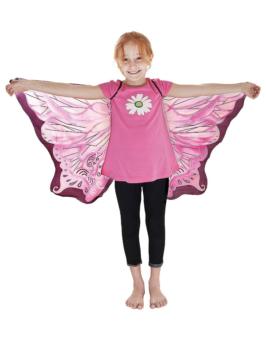 Amazon Pink Fairy Wings With Glitter Toys Games