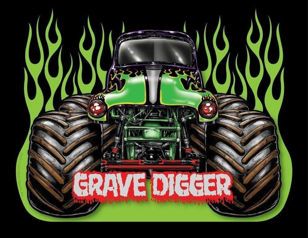 Amazon Com Tomorrow Sunny Monster Jam Trucks Grave Digger Art Silk Poster 24x32 Inch Door Home Decor By Tomorrow Sunny Posters Prints